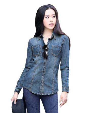 best denim shirts for women 2015