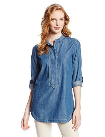 denim shirt for woman 2015