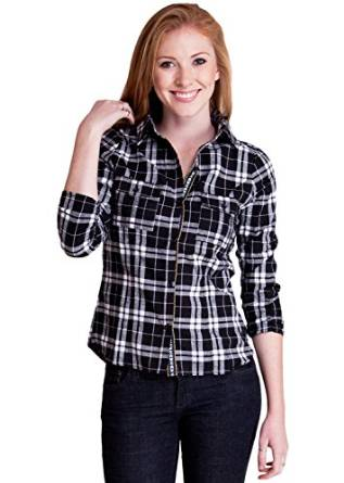 ladies checkered shirt 2015
