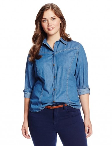 ladies denim shirts 2015