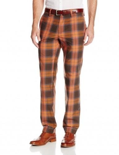 spring plaid pants for men  2015
