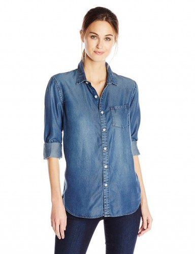 womens denim shirts 2015