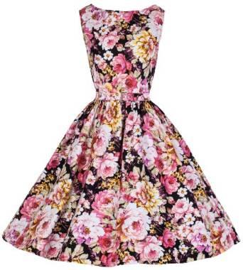 2015 vintage floral dress