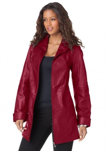 best leather coat for ladies 2015