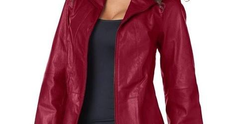 best leather coat for ladies 2015
