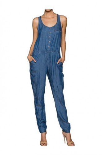 best denim jumpsuit