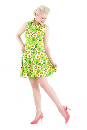 floral dress for summer 2015-2016