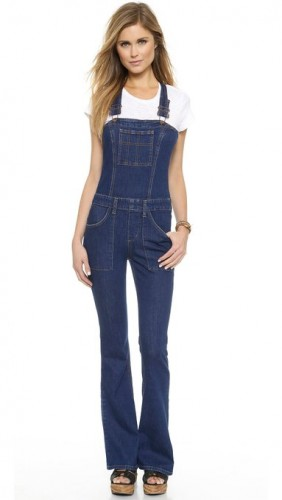 latest denim jumpsuits for women 2015-2016