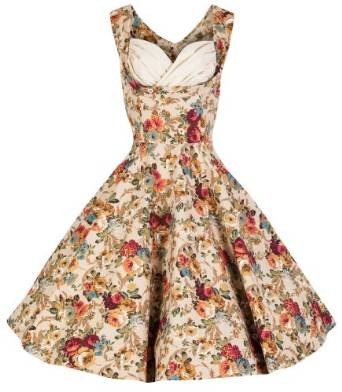 latest floral dresses 2015