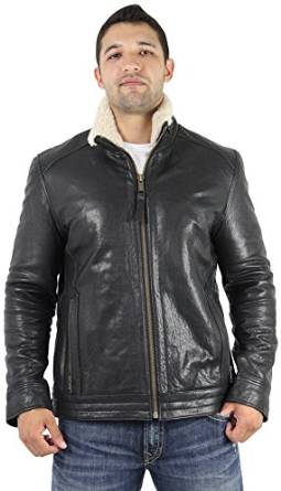 mens shearling jackets 2015