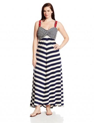 maxi dress with stripes 2015-2016