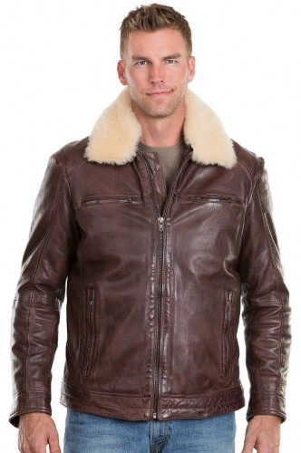 2016 stunning shearling jacket