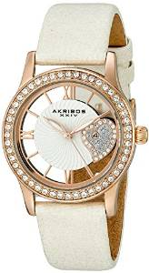 Akribos XXIV Women's AK811WTR Analog Display