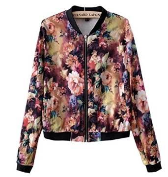 floral bomber jacket 2015-2016