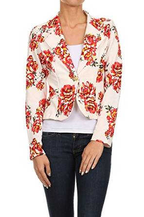 floral jacket