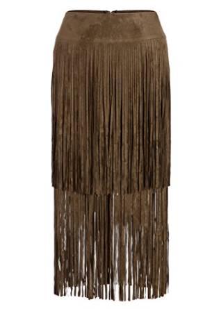 fringes skirt
