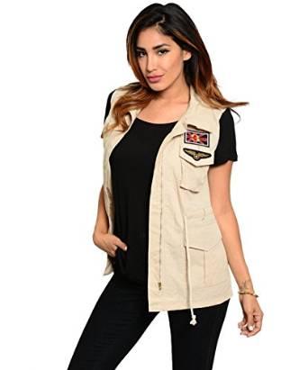 womens cargo vest