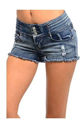 womens cutoff jeans