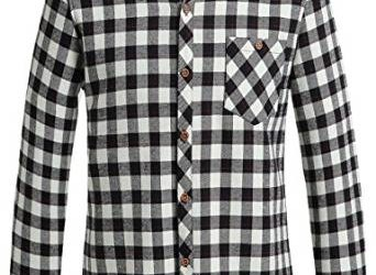 2016 checkered shirt for men