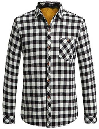 2016 checkered shirt for men