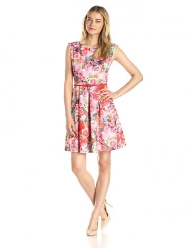 2016 women floral dress