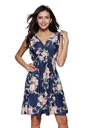 Spring floral dresses 2016 wearing casual best floral dress 2016 mightylinksfo