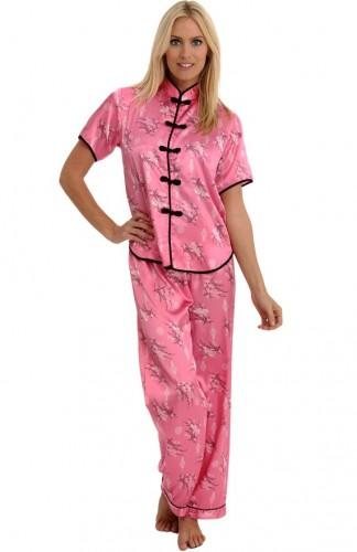 delicate silk pajamas 2018
