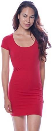 2016-2017 red mini dress
