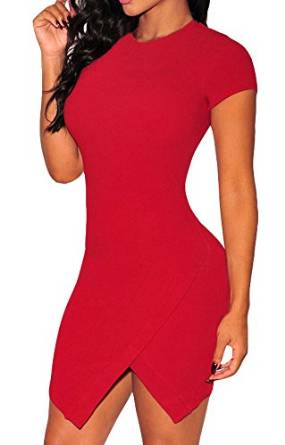 best red mini dresses 2016