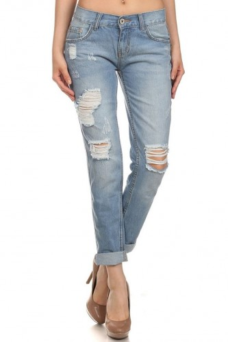 ladies boyfriend jean