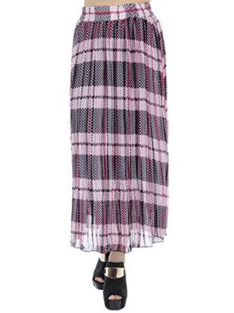 long plaid skirt 2016