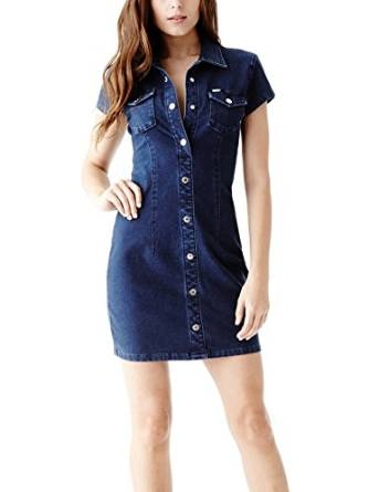 2016 denim dress