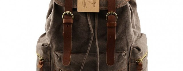 casual vintage backpack for men 2016-2017