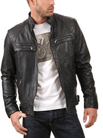 Casual leather jackets for men 2016 2017 wearing casual
