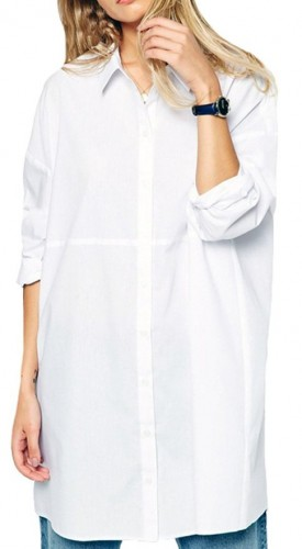 2016  white boyfriend shirt