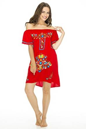 best good looking embroidered dress 2016