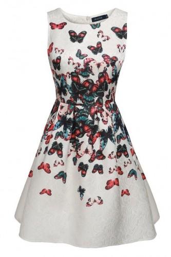 floral vintage dress 2016