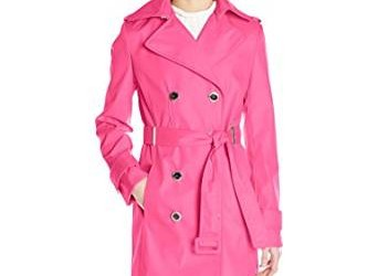 pink trench coat 2016-2017
