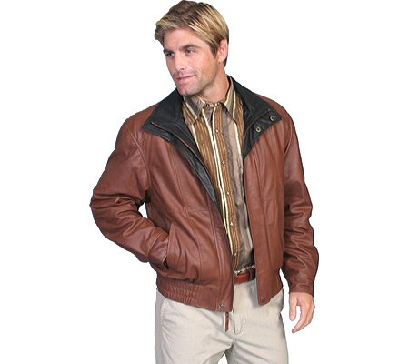 best gents brown leather jacket 2017