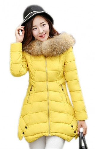 best yellow parka for ladies 2016-2017