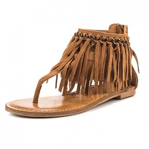 fringe sandals 2017