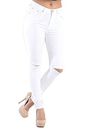 ladies best white jeans 2017