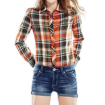 ladies checkered shirt 2017