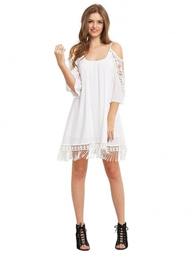 casual white summer dresses 2017