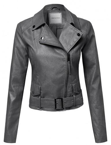 ladies biker jacket 2017