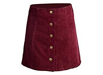 2017 corduroy skirt