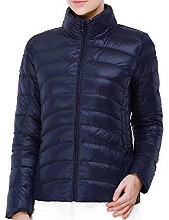 Puredown Weatherproof Women's Packable Down Puffer Jacket 2018
