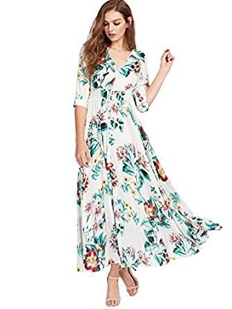 2017 summer maxi dress