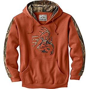 Legendary Whitetails Men's Realtree Camo Outfitter Hoodie 2018