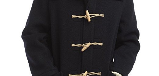 Original Montgomery Mens Wooden Toggles Duffle Coat